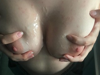 Pov Handjob By A Sweet French Teen Brunette With Nice Tits