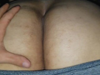 Worshipping booty chubby redhead teasing my cock thick...