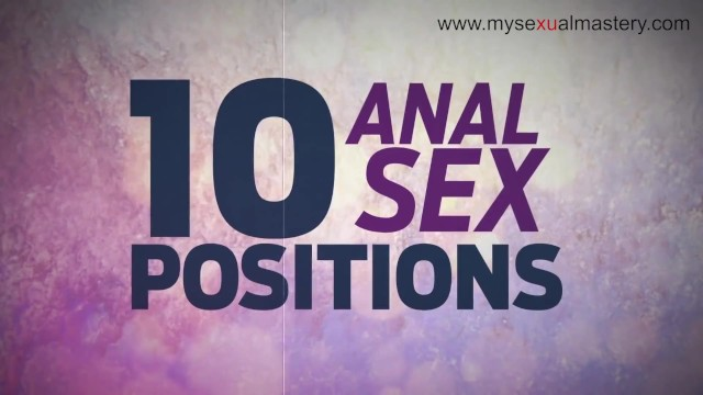 Funny sexual position Best anal positions