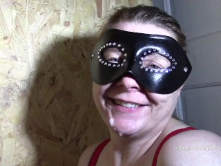 Cum Loving Gloryhole Wife