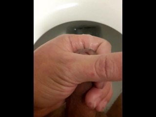 A Different Rich Cum In My Bathroom Incredible Cumshot