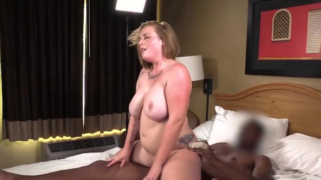 Strawberries up ass Busty phat strawberry blonde is surprised gets her 1st big black cock