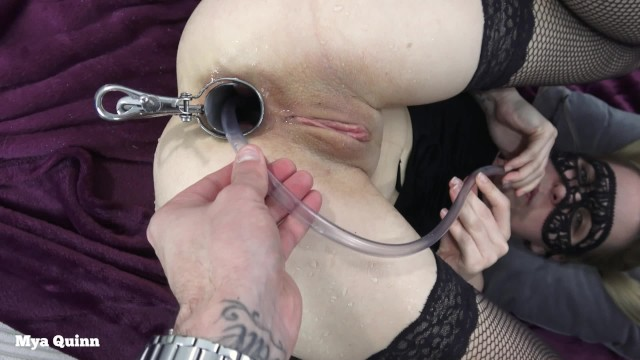 Vaginal speculum bilder Drinking anal piss with speculum - anal pissing ass licking - mya quinn