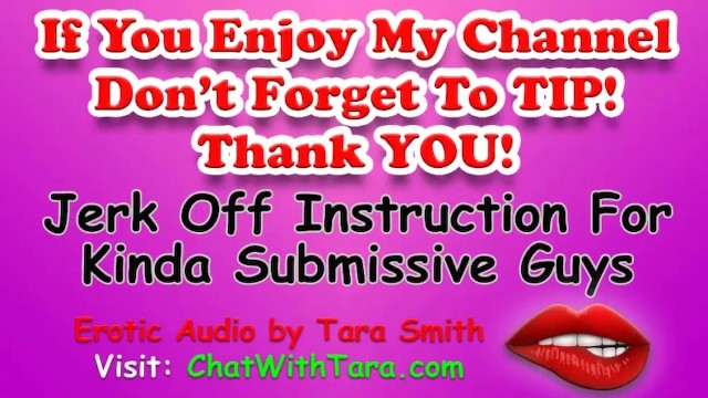 Jerk off lesons Jerk off instruction encouragement 4 kinda submissive guys joi light anal erotic audio tara smith