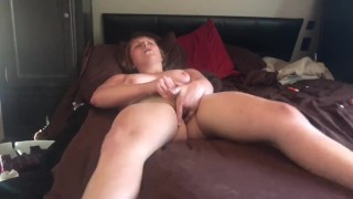 Thick RedHead Almost TapsOut Finger Fucking Herself
