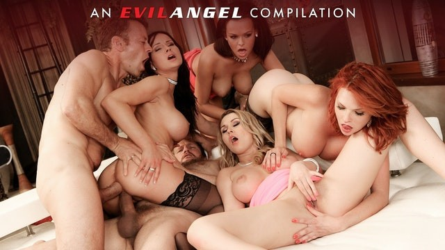 Angel milf sex Evilangel - rocco siffredis double anal compilation