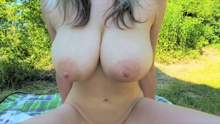Young Busty MILF wants Creampie instead of Picnic - Milaluv