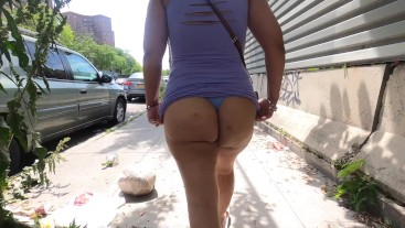 My Sister in Law with tight purple dress flashing me (wifestwin)