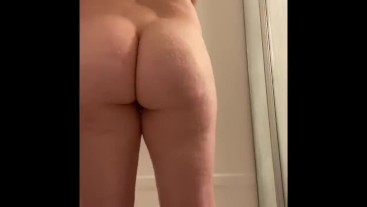 Showing off my body in the shower