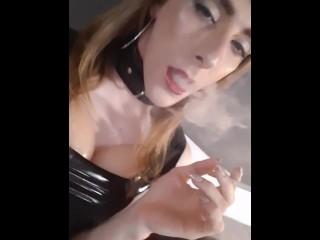 Smoking fetish...