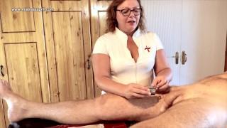 Dominatrix Mistress April - Catheter hole control