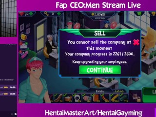 The biggest hunting spear! Fap CEO: Men Stream #11 W/HentaiGayming
