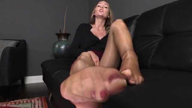 Pleasure Worship for my pleasure - foot domination female supremacy trailer