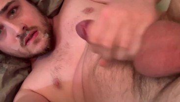 Nice big load all over my face