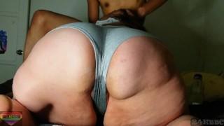 Making my bbw neighbor @ 24kbooty soak her panties (full vid on onlyfans & fancentro)