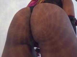 Ebony dominatrix worship whipping flogging...