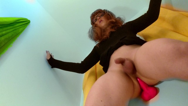 Sissy prostate milking filled with Daddys cum! 3