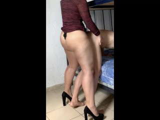 AMAZING PEGGING for fucking her ass preview