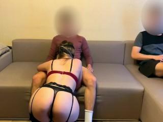Share My Wife to Best Friend | Cuckold Husband Watching - LuvGaru