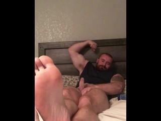 Bodybuilder naked foot request video onlyfansbeefbeast wes norton...