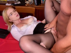Lover Passionate Facefuck and Doggy Fuck Hot Girlfriend - Facial