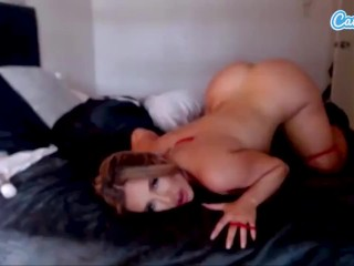 Camsoda savannah bond tit hottie masturbates...