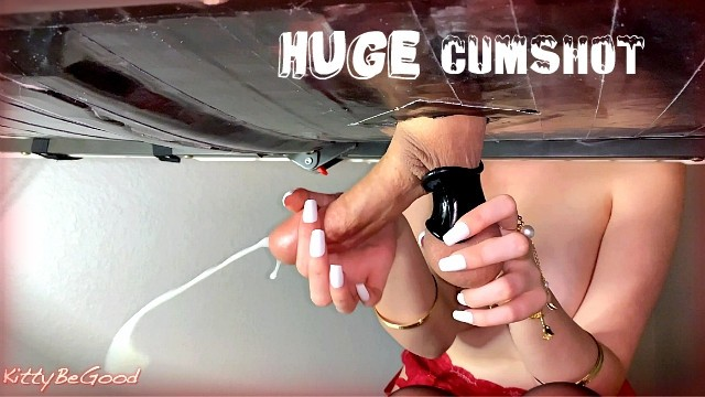 Best adult couples dvd Amazing cock milking massage with massive cumshot