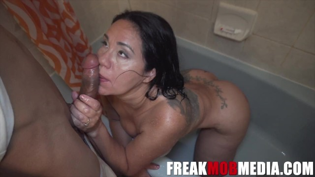 FREAKMob Media- Queen Rogue Fucked her Step-son