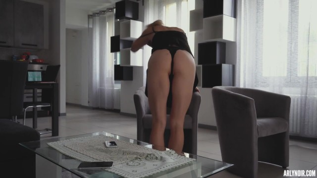 CUSTOM VIDEO - Fit Sexy Babe dreaming about BBC 20