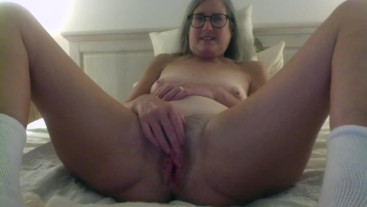 Horny Stepmom Fantasizes About Stepson Fingers Pussy Mature Milf