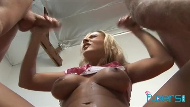 Hand job utube Julie robbins double handjob