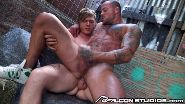 The gay double y Guys plan to double team girl but would rather fuck each other