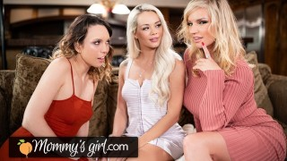 MommysGirl Elsa Jean Pleases Her MILF Stepmom By Inviting A Cute Friend Over