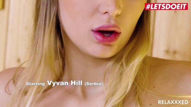 Relaxxxed - Vyvan Hill Big Tits Serbian Teen Seduces Shy Guy For Hot Sauna Anal Sex 2