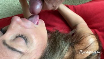 MILF Blowjob-Cum in Hair-Rinsed with Piss PART 2 (Fan Request)