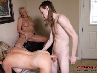 Country Club Cougars - Sexy MILF 3Way FFM With Payton Hall & Presley St. Claire
