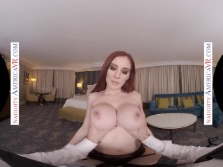 Naughty America - Lilian Stone fucks you in VR