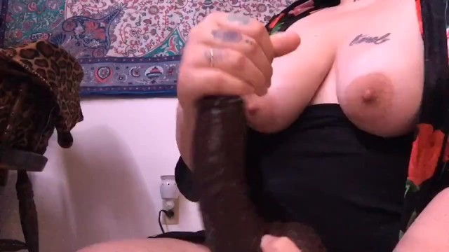 SEXY BBW GETS FREAKY WITH DILDO 7