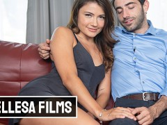 Belessa - Sexy Petite Babe Adria Rae Gets Her Pussy Drilled By Big Cock