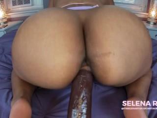 Latina Big Booty Blowjob