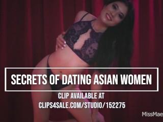 Secrets to dating asian women...
