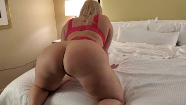 Thick PAWG Mz Dani Ass Worship Til Fan Cums On Her Juicy Booty