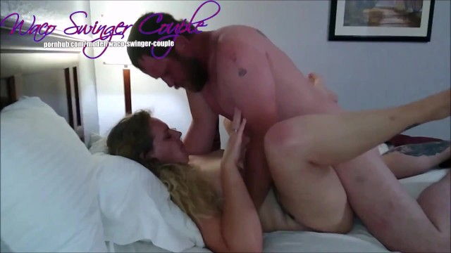 Wife screw bang fuck sex Slut milf wife fucks and sucks stranger in hotel room while i watch and film her getting banged