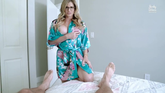 Mom son jerk off Step mom catches me jerking off to porn and takes over - cory chase