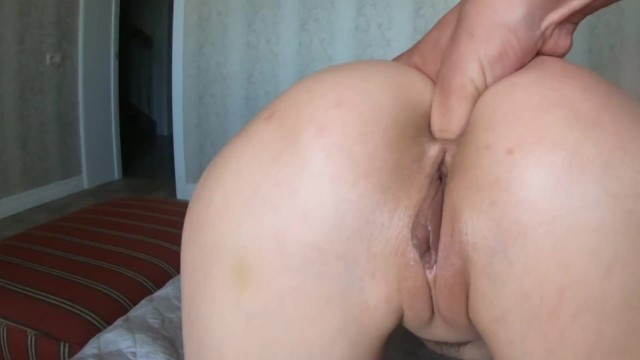 Curious stepsister Say stepbrother to put figers in ass Doggystyle 15
