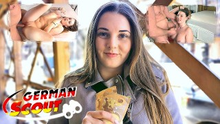 GERMAN SCOUT – CURVY NATURAL SCHOOLGIRL LUCIE TALK TO FUCK AT REAL PICKUP STREET CASTING