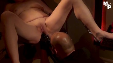 Anal stretching for my milf