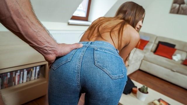 Wife traded debt sex Debt4k. pretty long-haired dollface fucks for debts for snake farm