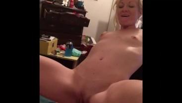 Sloppy slut deep throats big cock and bareback fucks