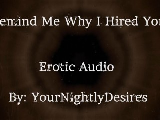 Interview part 2 why did i hire you...